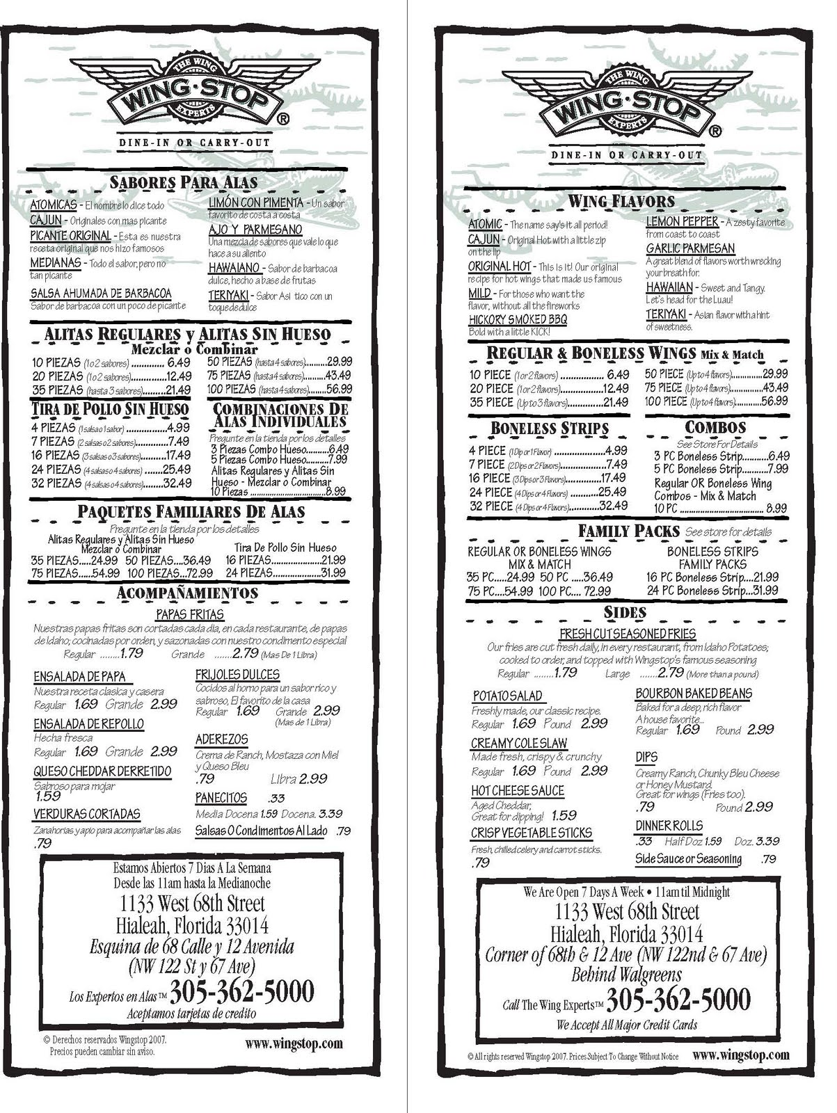 graphic about Wingstop Printable Menu known as Wingstop discount coupons menu