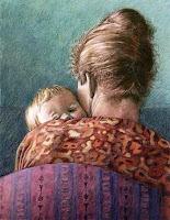 ציור - אמא ותינוק