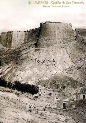 Resultado de imagen de Castillo de San Fernando (Alicante)