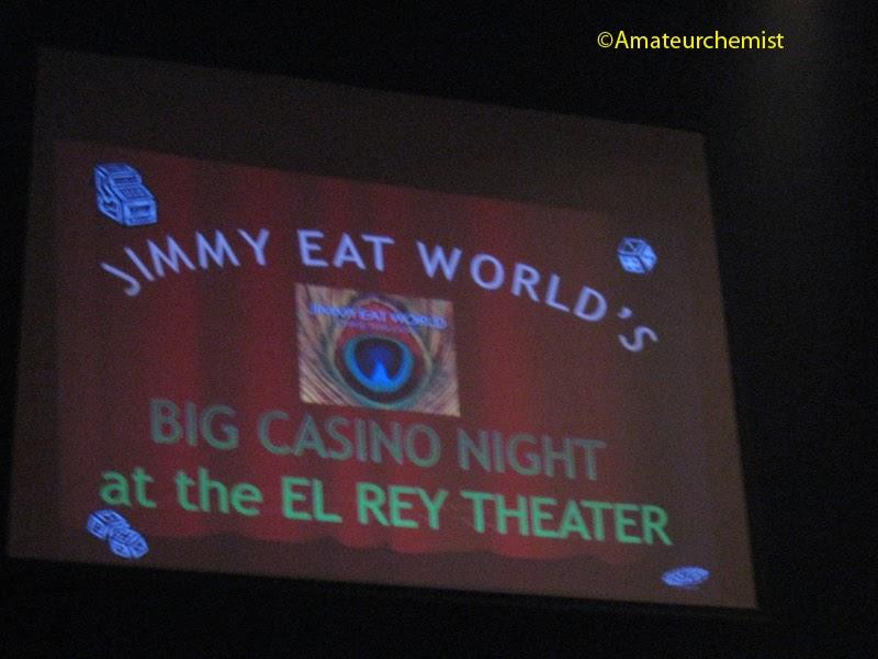 Amateur Chemist Jimmy Eat World At The El Rey Theatre