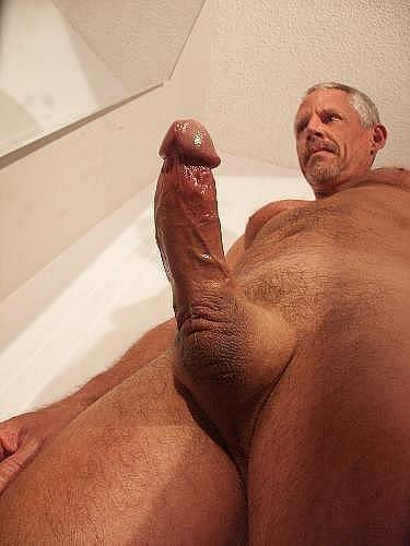 nude hard old men