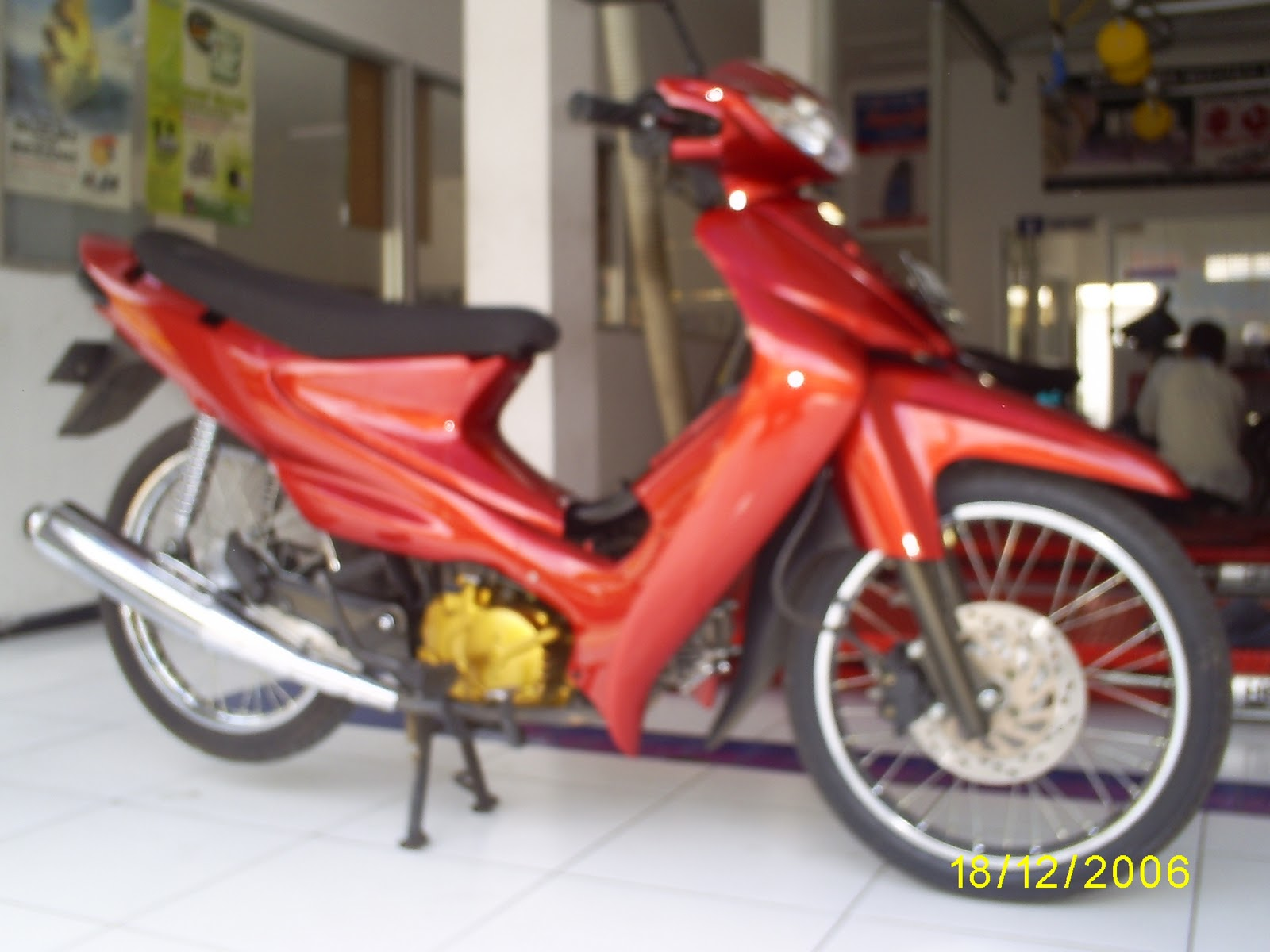 modifikasi suzuki smash