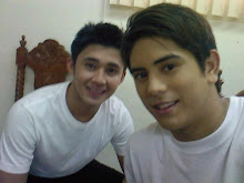 Gerald with Aaron