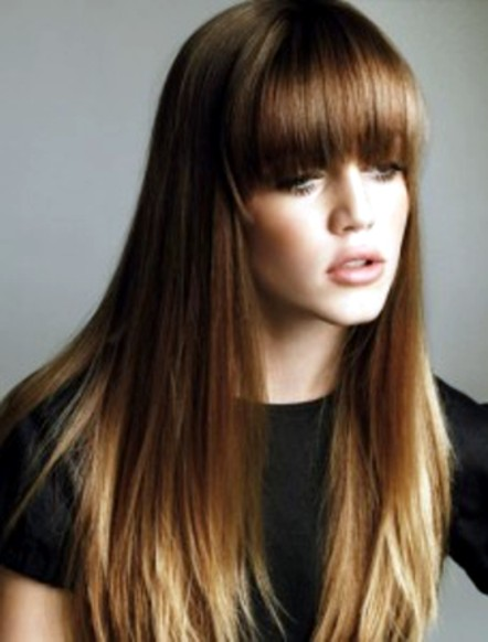 Hair Color Corner: Brunette Summer Ombre Hair Color