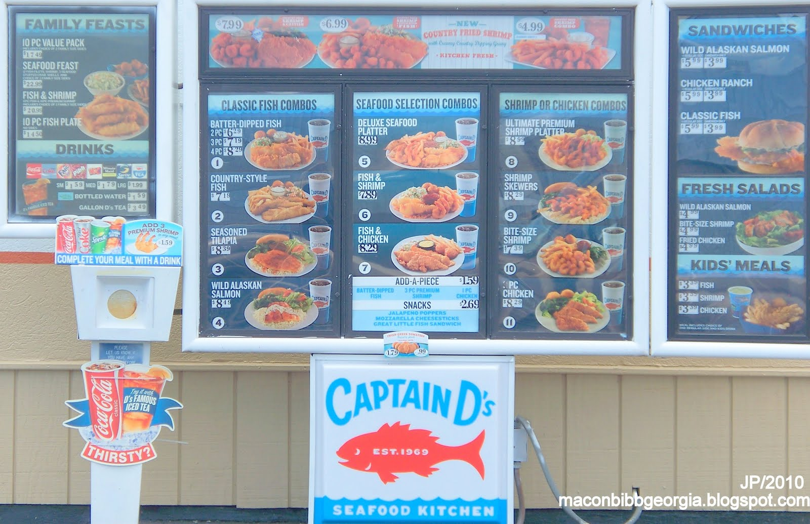 photo about Captain D's Printable Coupons known as - Eating places in excess of gwinnett arena