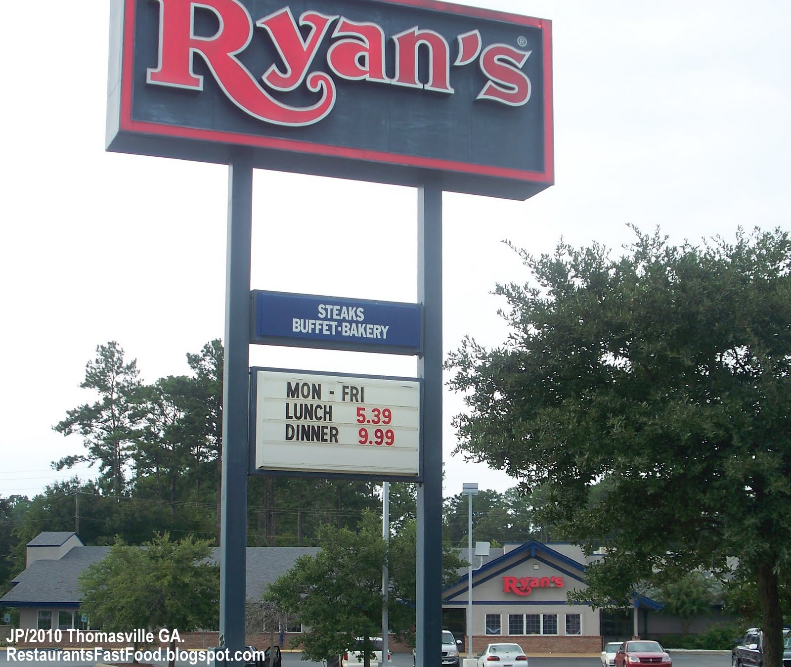 Ryans Prices For Buffet Pictures