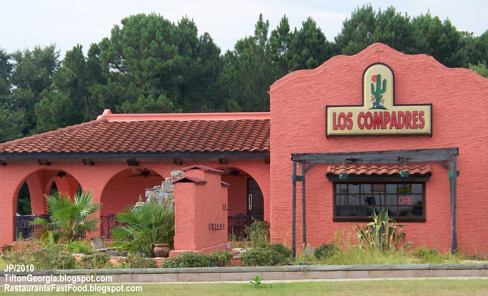 Los Compadres Mexican Restaurant Tifton Menu
