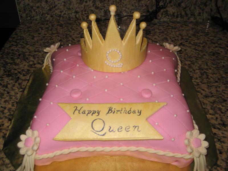 Happy Birthday Cake Queen