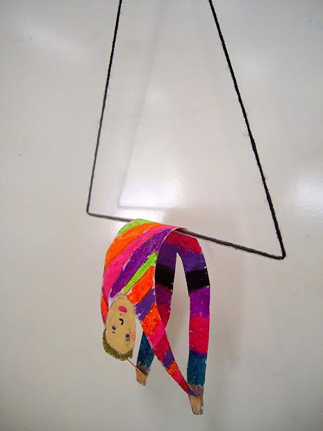 Coloured Pencils Trapeze Artists
