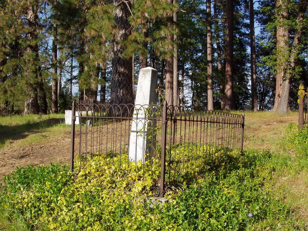 Historic American Landscapes Survey: Pioneer Cemetery ...