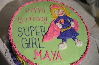 Lindseys Cakes Super Girl
