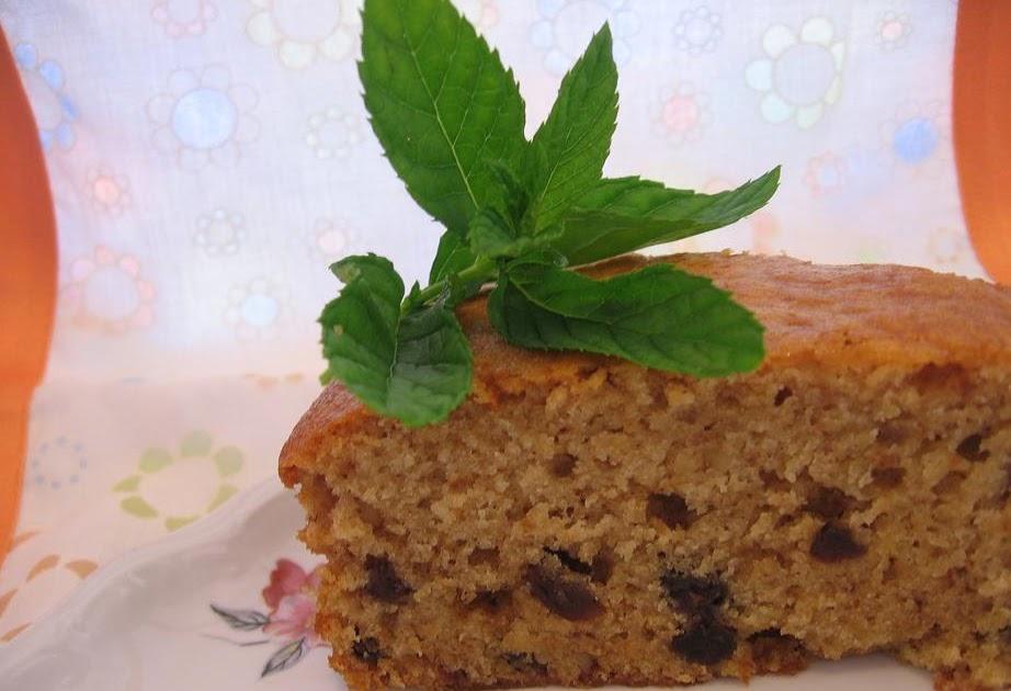 Less Sugar Cake Recipe