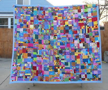 Raffle Quilt Made With My Sister