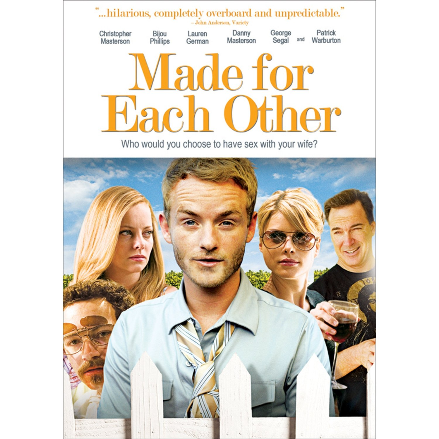 Made For Each Other: DVD A Day: September 2010