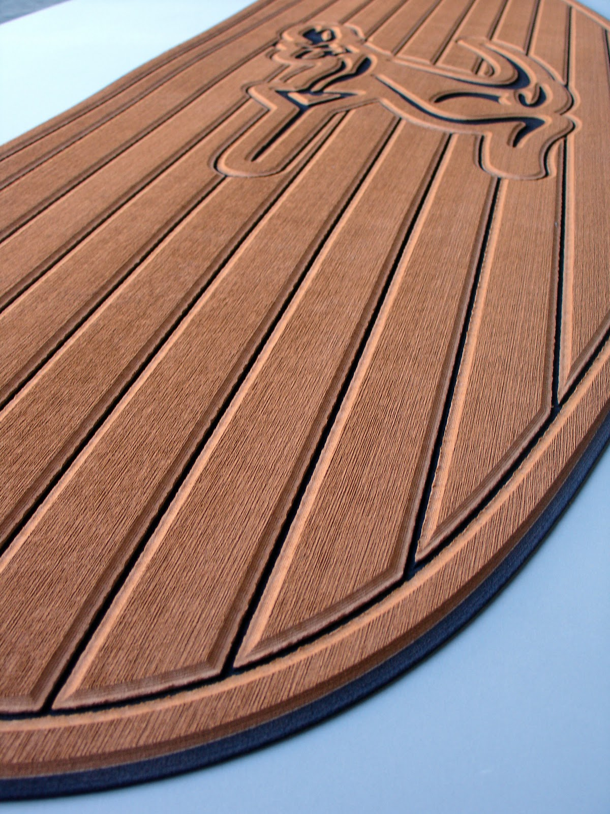 Moomba Roo One Piece Faux Teak Swim Platform Pad Seadek Marine Products