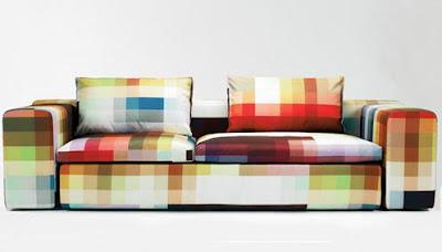 Pixel Sofa via The Cool Hunter