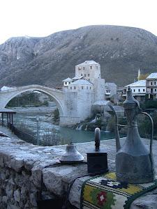 el nou pont de Mostar.