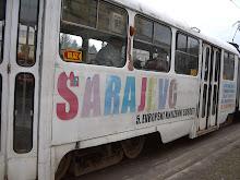 Els tramvies de Sarajevo.