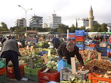 Sud Xipre. El mercat del dimecres.