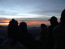 La venerable sortida de Sol al mont Sinaí.
