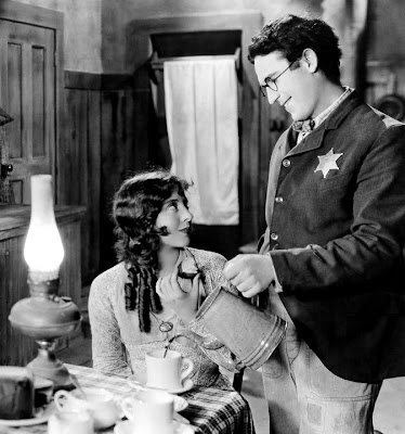 Jobyna Ralston with Harold Lloyd.