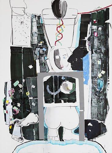 Magnus Plessen Ladder Magnus Plessen Art Artwork Painting