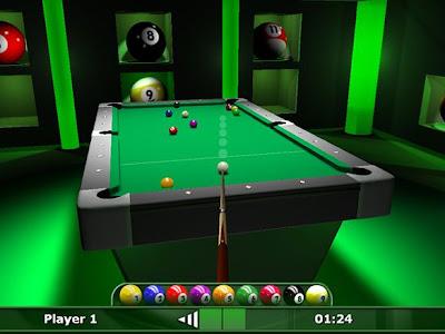 不良中年: 3D撞球 DDD Pool v1.2免安裝