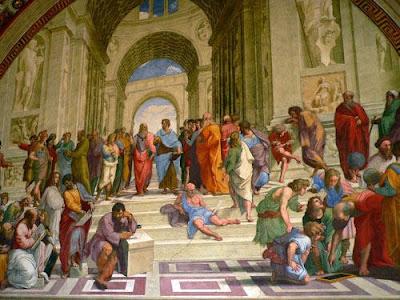 Galerie michel ange le pictographe - Fresque du plafond de la chapelle sixtine ...
