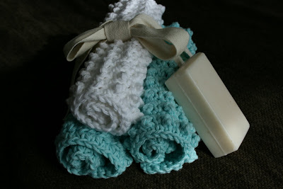 nubby washcloth