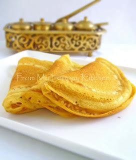 Apom Balik/ Malaysian Pancake