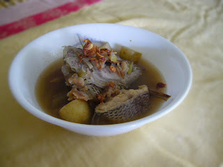 Masak Singgang or Sup ikan
