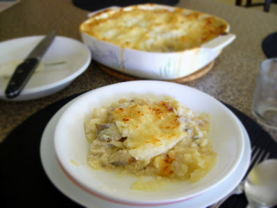 Fish potato Pie