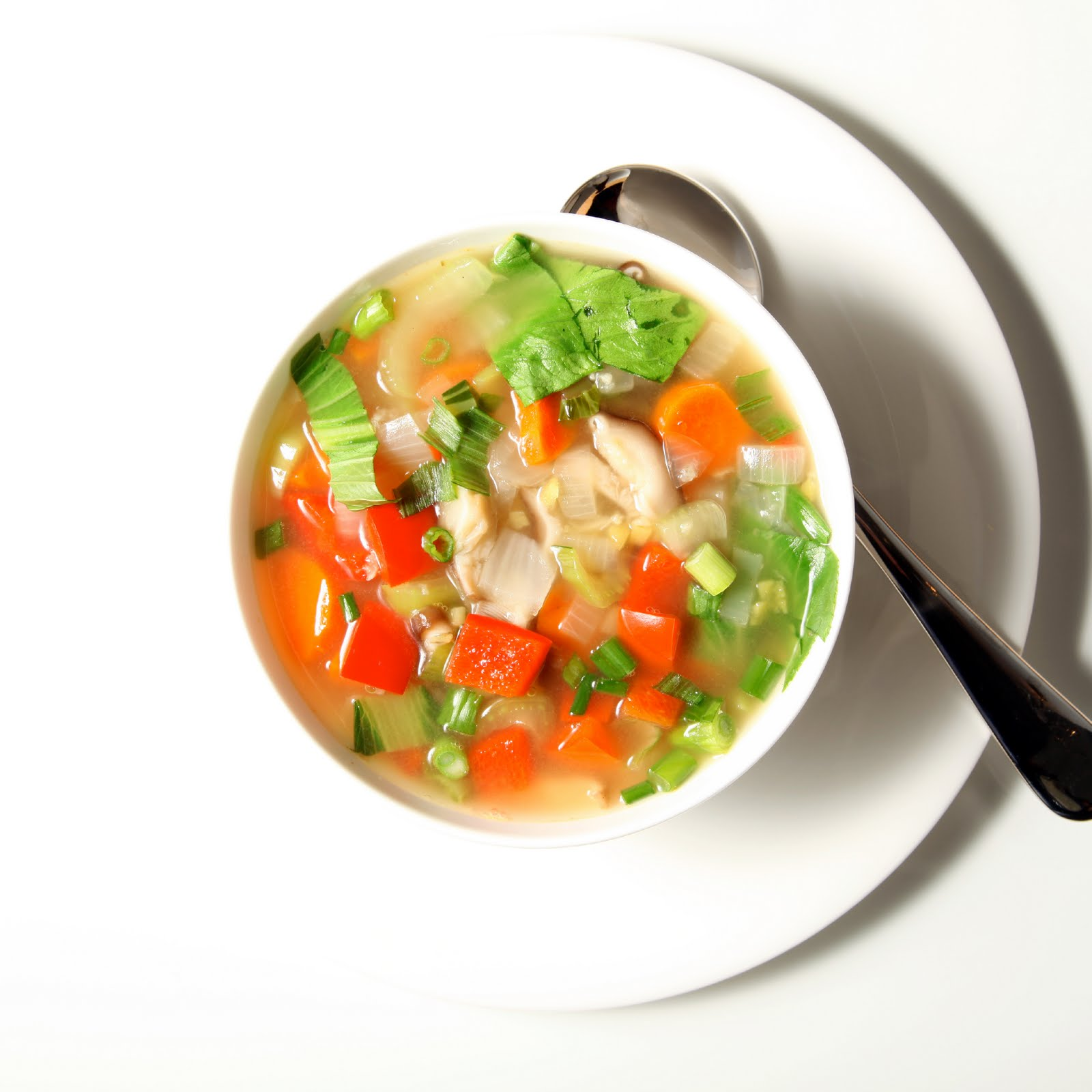 The 10 Cent Diet: Easy Veggie Soup