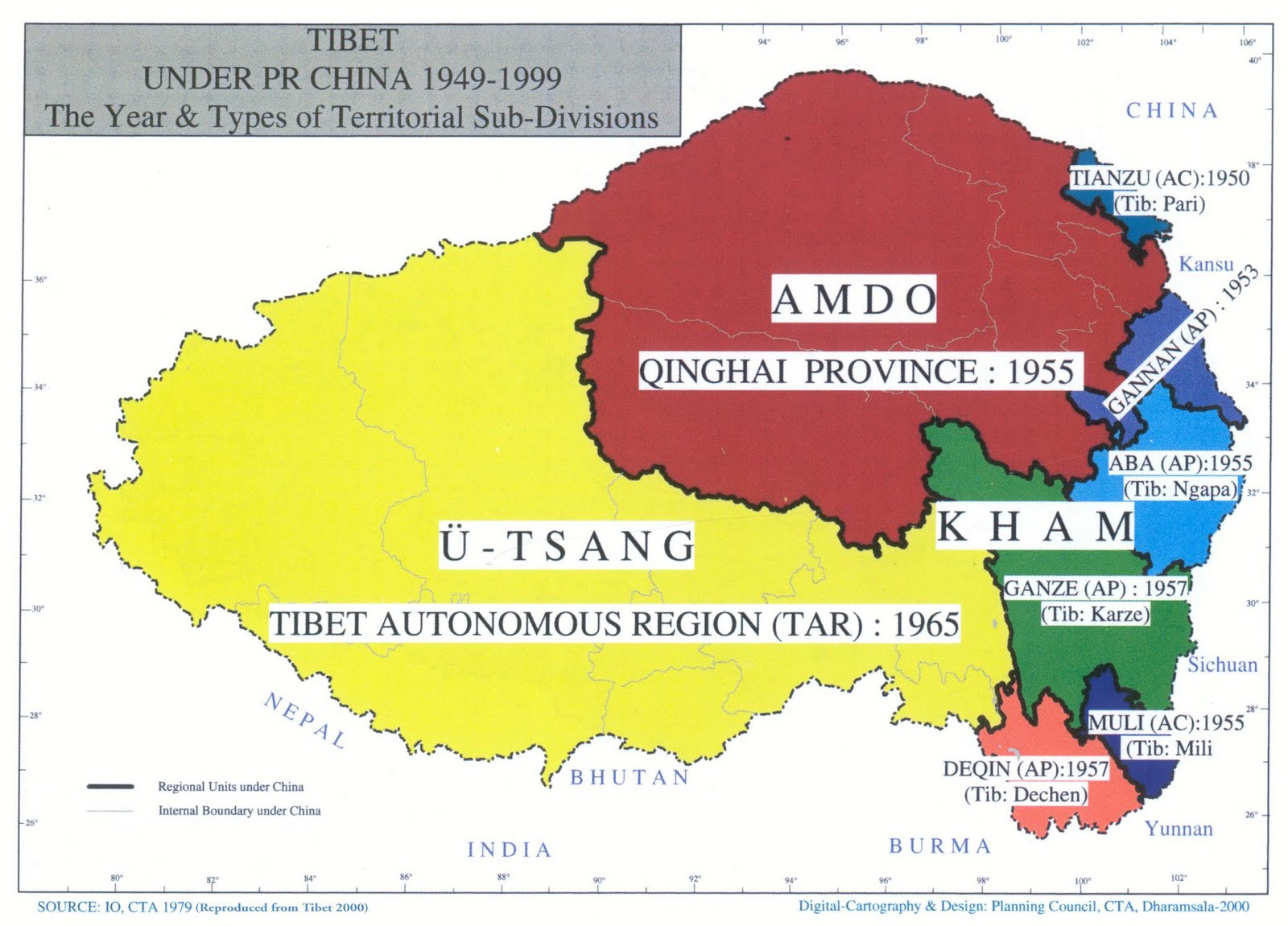China Without The Separatist Regions Of Tibet Xinjiang