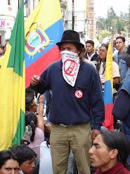 EN ECUADOR, EL PUEBLO INDÍGENA QUIERE AL T. L. C. FUERA DE SUS TIERRAS