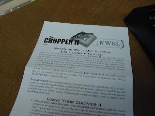 Traintools - Model Train Tools Digest: Tools: NWSL Chopper
