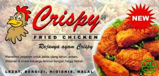 Frenchise CHRISPY Fried Chicken ASELI warga Harapan Indah