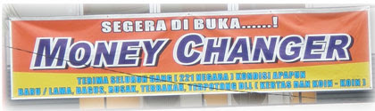 MONEY CHANGER Harapan  Indah