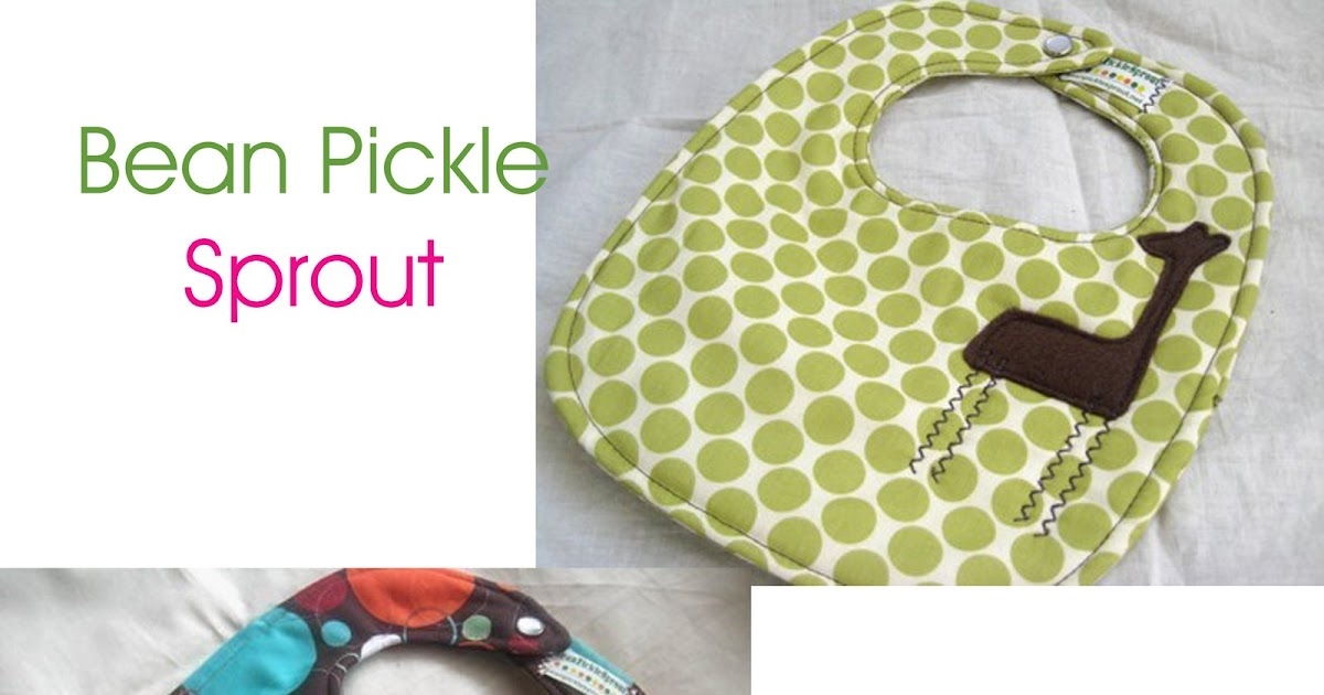 Bean Pickle Sprout | Paper Chick