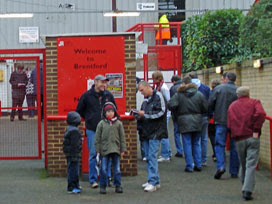 Griffin Park, home of Brentford FC