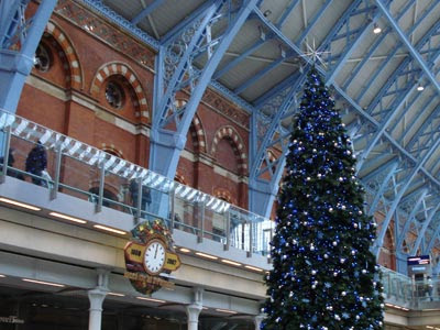 Christmas at St Pancras