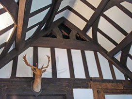 Queen Elizabeth's Hunting Lodge - interior, top
