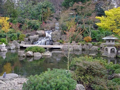 the Kyoto Garden, Holland Park
