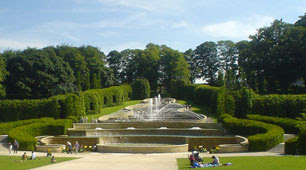 the Grand Cascade, Alnwick Garden