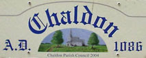 Chaldon village sign