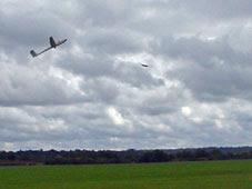 glider at Kenley
