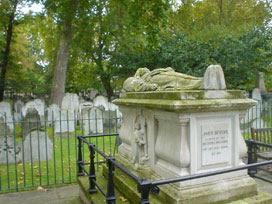 John Bunyan's final resting place