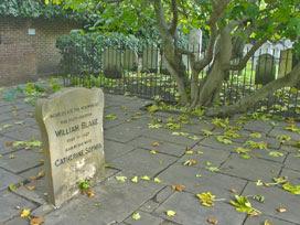 William Blake's tombstone