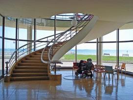 Southern staircase, De La Warr Pavilion