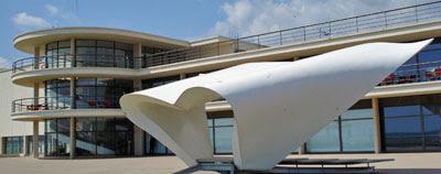 De La Warr Pavilion, Bexhill (and bandstand)